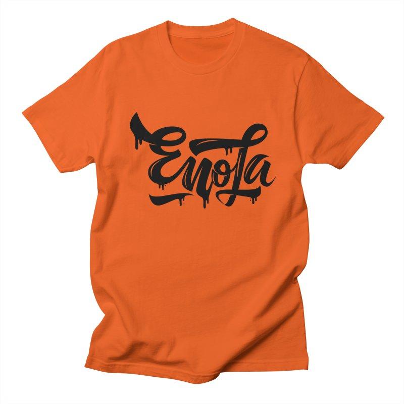 EnoLa drip Men's T-Shirt by EnoLa's Artist Shop