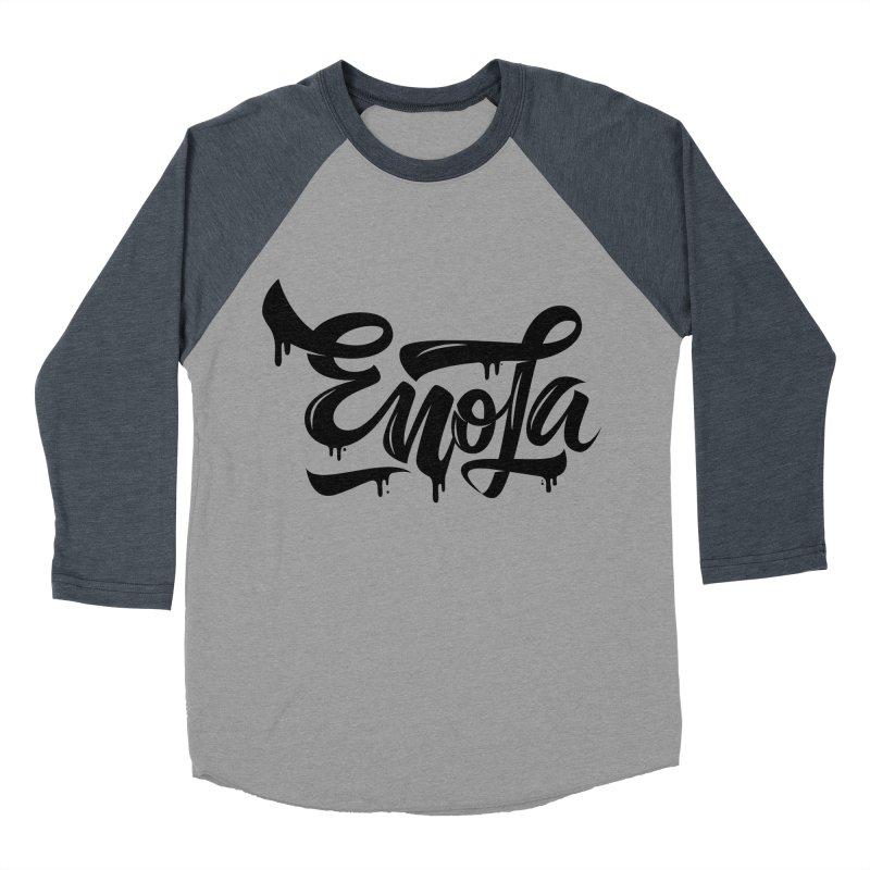 EnoLa drip Women's Baseball Triblend T-Shirt by EnoLa's Artist Shop