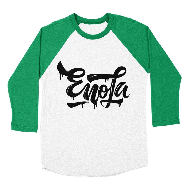 EnoLa drip Men's Baseball Triblend T-Shirt by EnoLa's Artist Shop