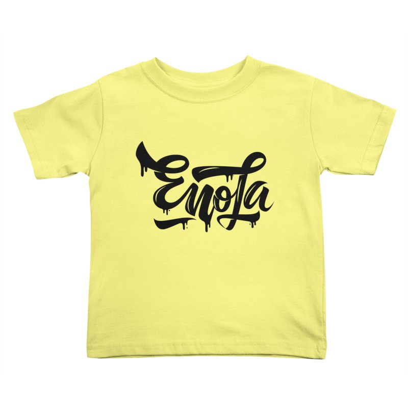EnoLa drip Kids Toddler T-Shirt by EnoLa's Artist Shop