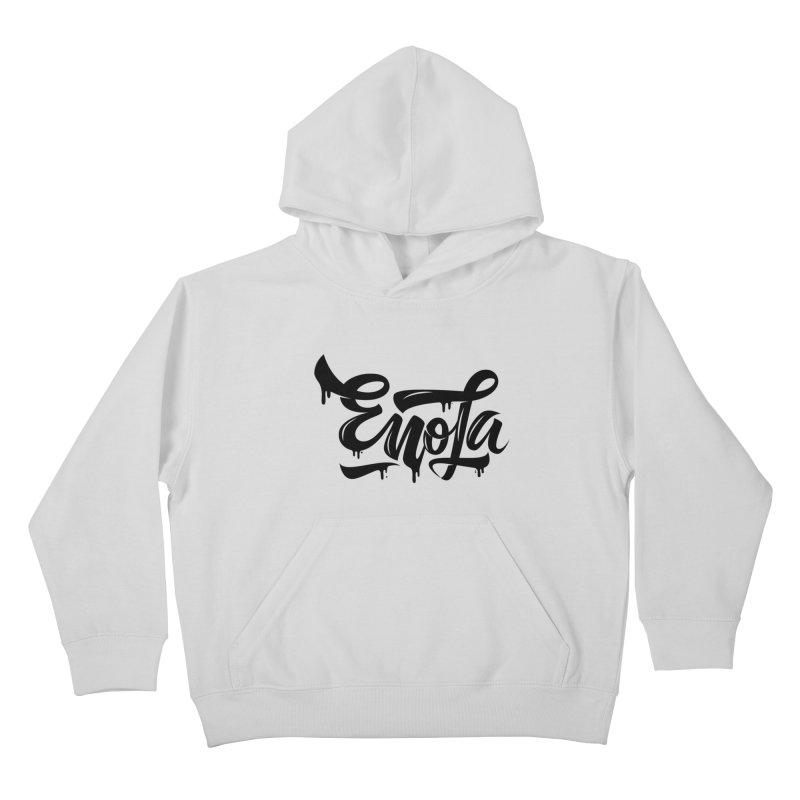 EnoLa drip Kids Pullover Hoody by EnoLa's Artist Shop
