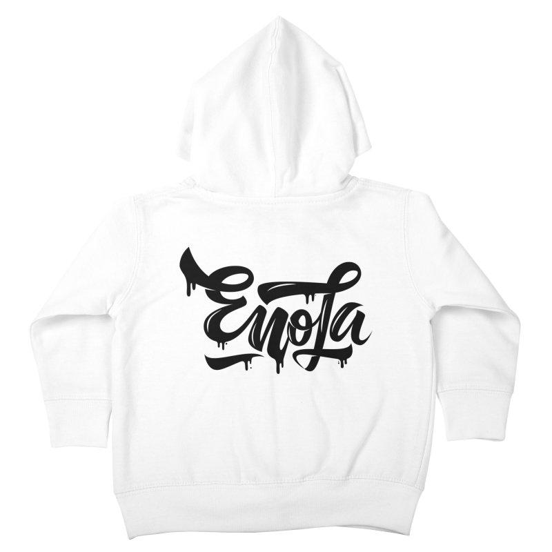 EnoLa drip Kids Toddler Zip-Up Hoody by EnoLa's Artist Shop