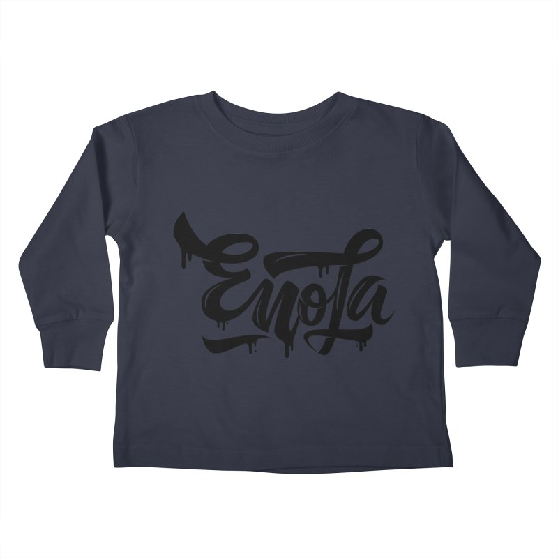 EnoLa drip Kids Toddler Longsleeve T-Shirt by EnoLa's Artist Shop