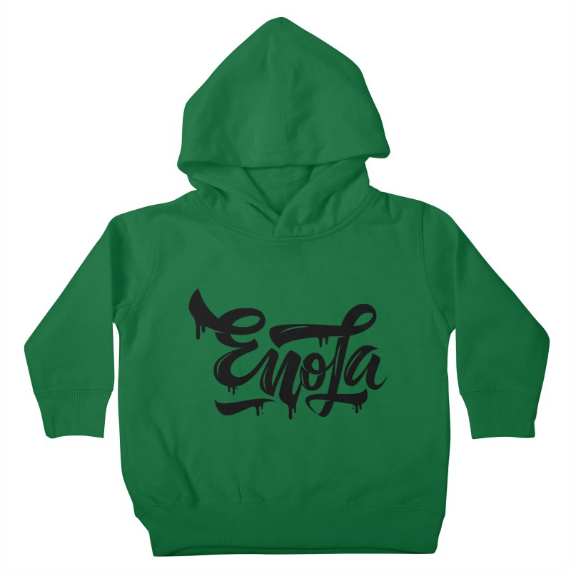 EnoLa drip Kids Toddler Pullover Hoody by EnoLa's Artist Shop