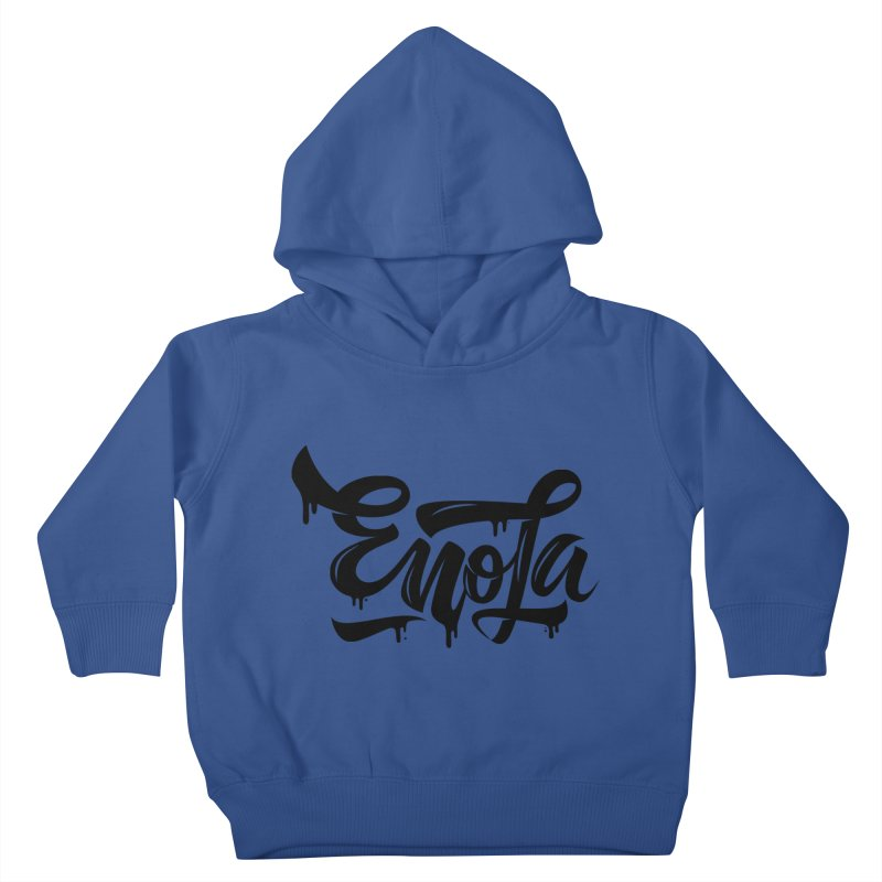 EnoLa drip Kids Toddler Pullover Hoody by EnoLa's Artist Shop