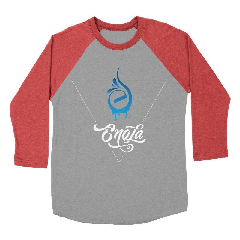 EnoLa Tessellate Men's Baseball Triblend T-Shirt by EnoLa's Artist Shop