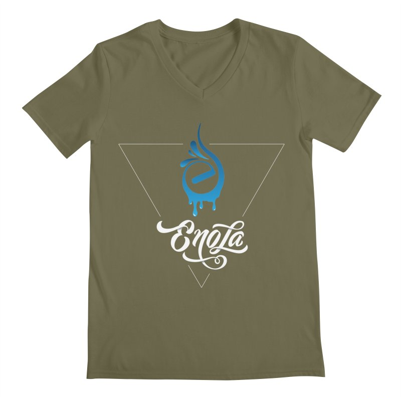 EnoLa Tessellate Men's V-Neck by EnoLa's Artist Shop