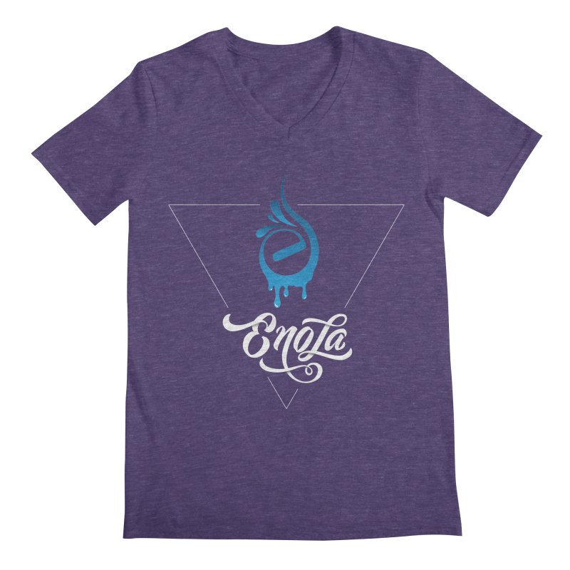 EnoLa Tessellate Men's V-Neck by EnoLa's Artist Shop