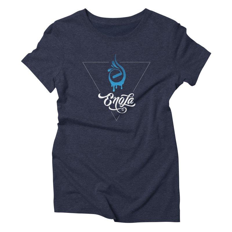 EnoLa Tessellate Women's Triblend T-Shirt by EnoLa's Artist Shop