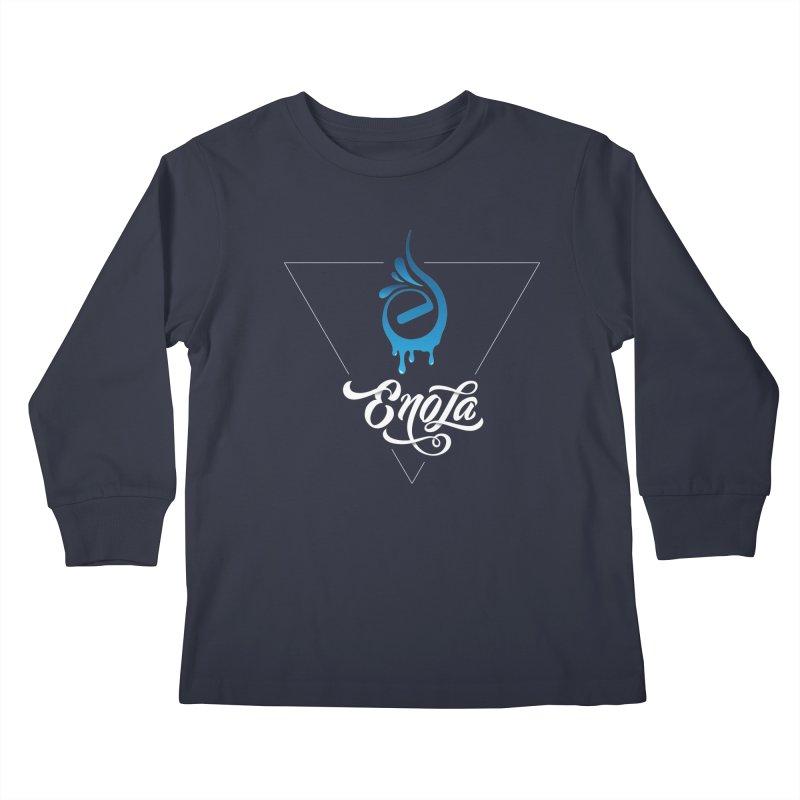 EnoLa Tessellate Kids Longsleeve T-Shirt by EnoLa's Artist Shop