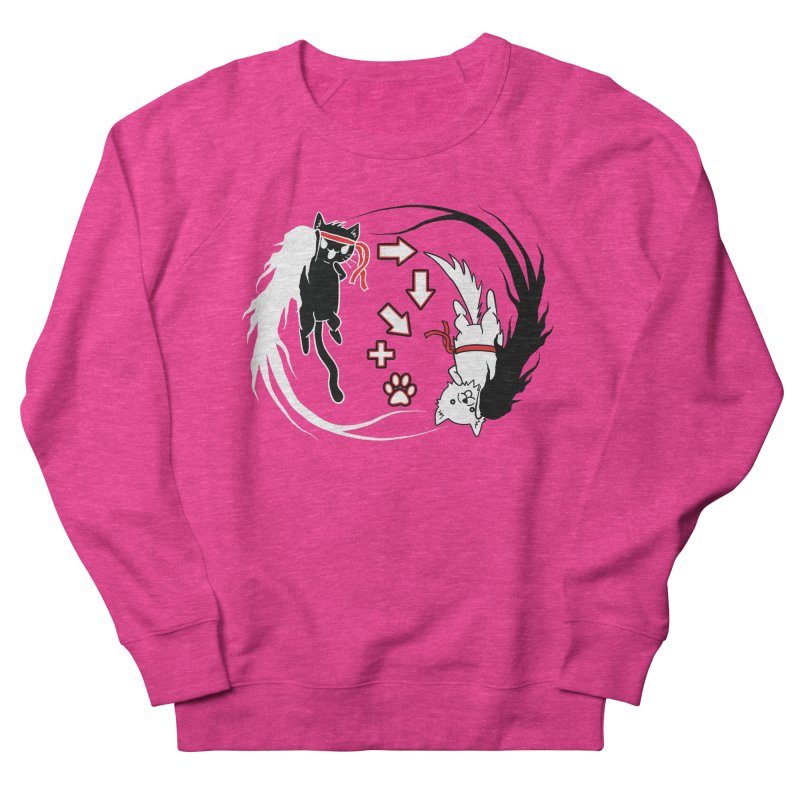 Paw-yuken! Women's Sweatshirt by EnoLa's Artist Shop