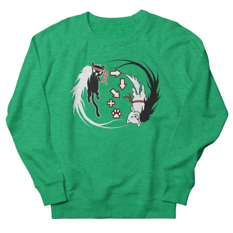 Paw-yuken! Men's Sweatshirt by EnoLa's Artist Shop