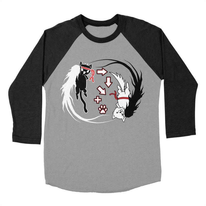 Paw-yuken! Men's Baseball Triblend T-Shirt by EnoLa's Artist Shop