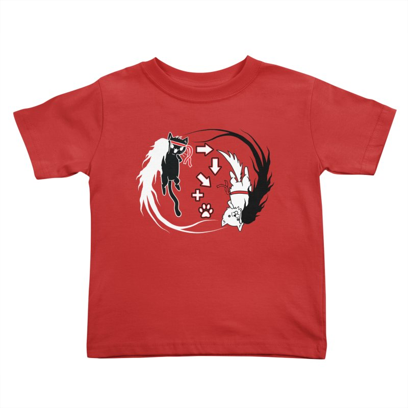 Paw-yuken! Kids Toddler T-Shirt by EnoLa's Artist Shop
