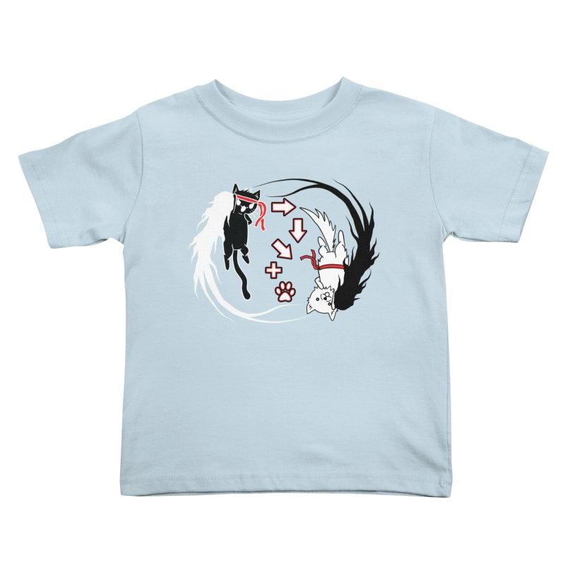 Paw-yuken! Kids Toddler T-Shirt by EnoLa's Artist Shop