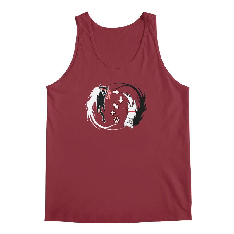 Paw-yuken! Men's Tank by EnoLa's Artist Shop