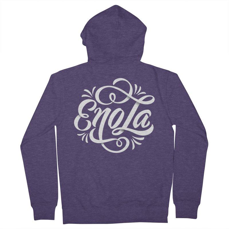Circle of EnoLa Men's Zip-Up Hoody by EnoLa's Artist Shop
