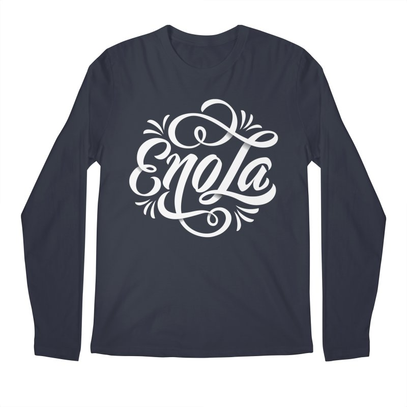 Circle of EnoLa Men's Longsleeve T-Shirt by EnoLa's Artist Shop
