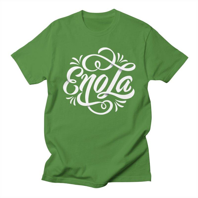 Circle of EnoLa Men's T-Shirt by EnoLa's Artist Shop