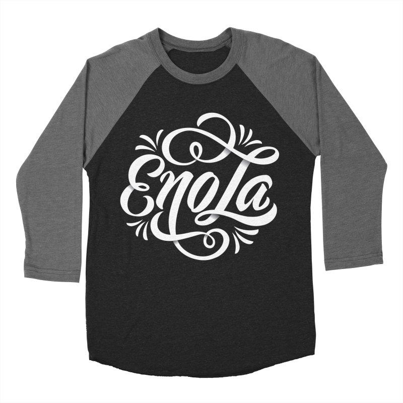 Circle of EnoLa Women's Baseball Triblend T-Shirt by EnoLa's Artist Shop