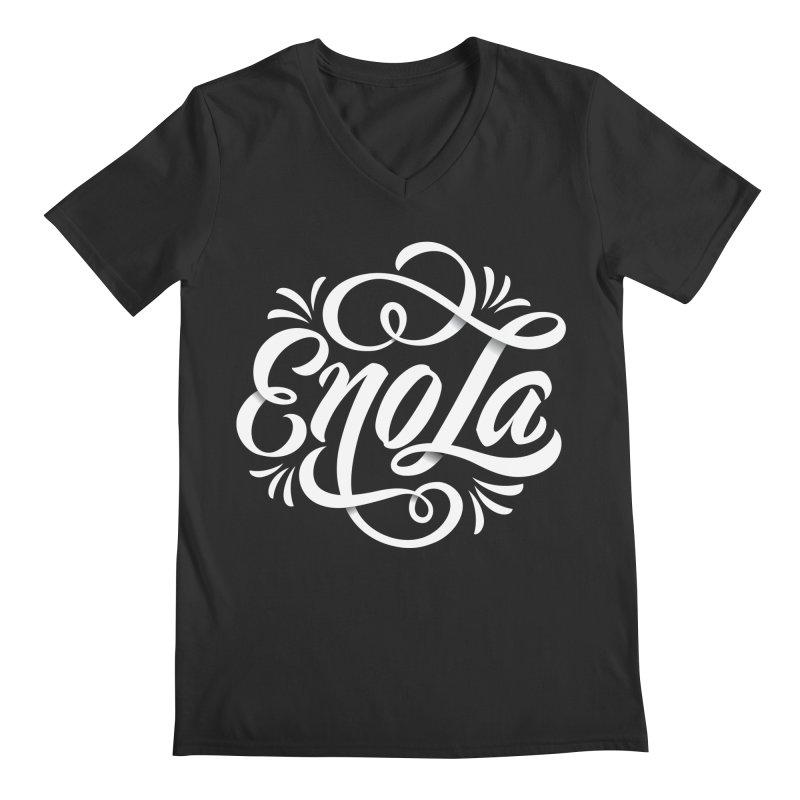 Circle of EnoLa Men's V-Neck by EnoLa's Artist Shop
