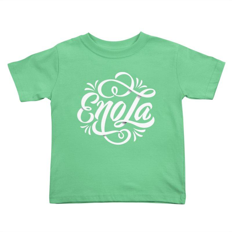 Circle of EnoLa Kids Toddler T-Shirt by EnoLa's Artist Shop