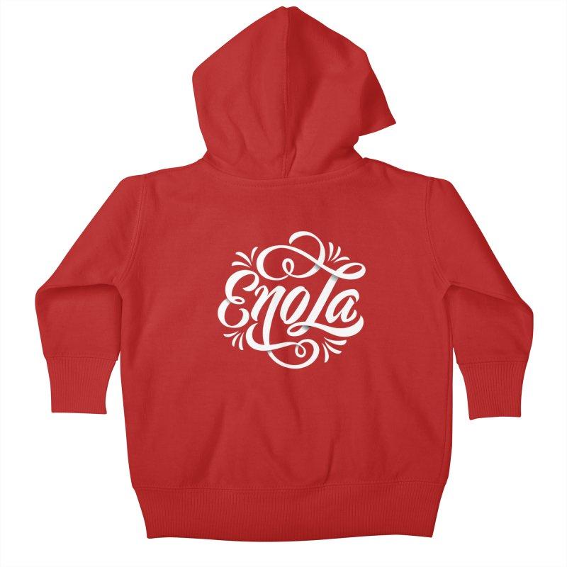 Circle of EnoLa Kids Baby Zip-Up Hoody by EnoLa's Artist Shop
