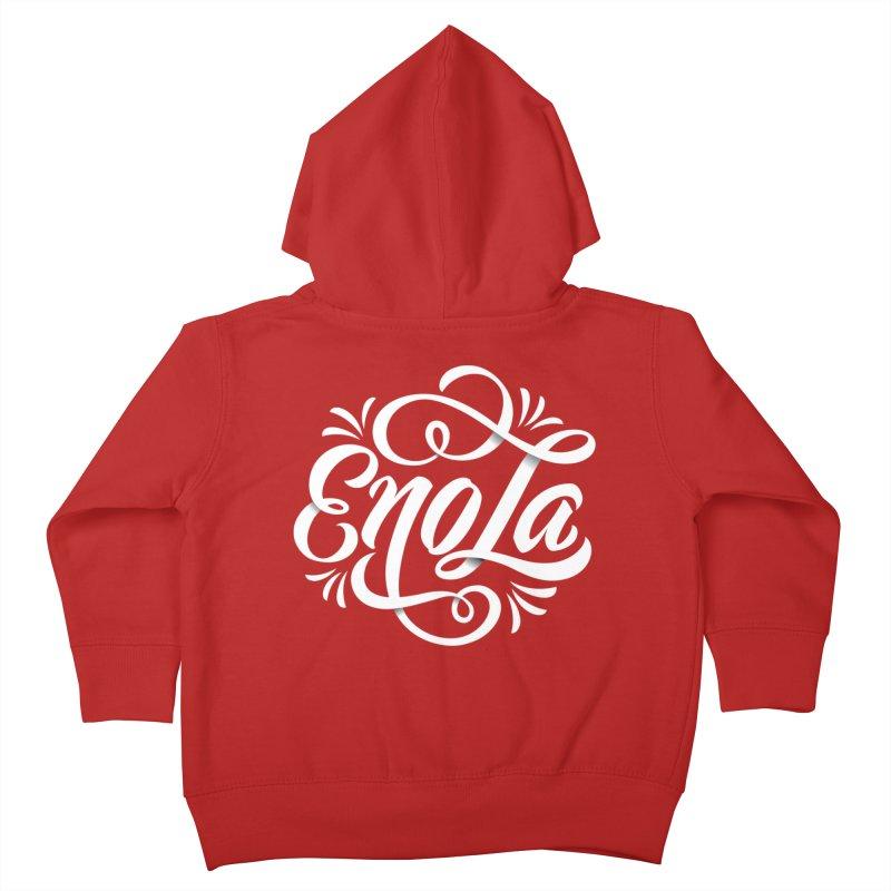 Circle of EnoLa Kids Toddler Zip-Up Hoody by EnoLa's Artist Shop