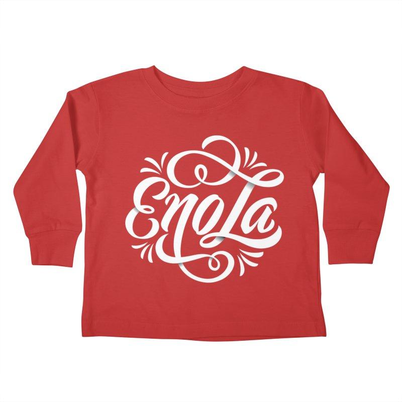Circle of EnoLa Kids Toddler Longsleeve T-Shirt by EnoLa's Artist Shop