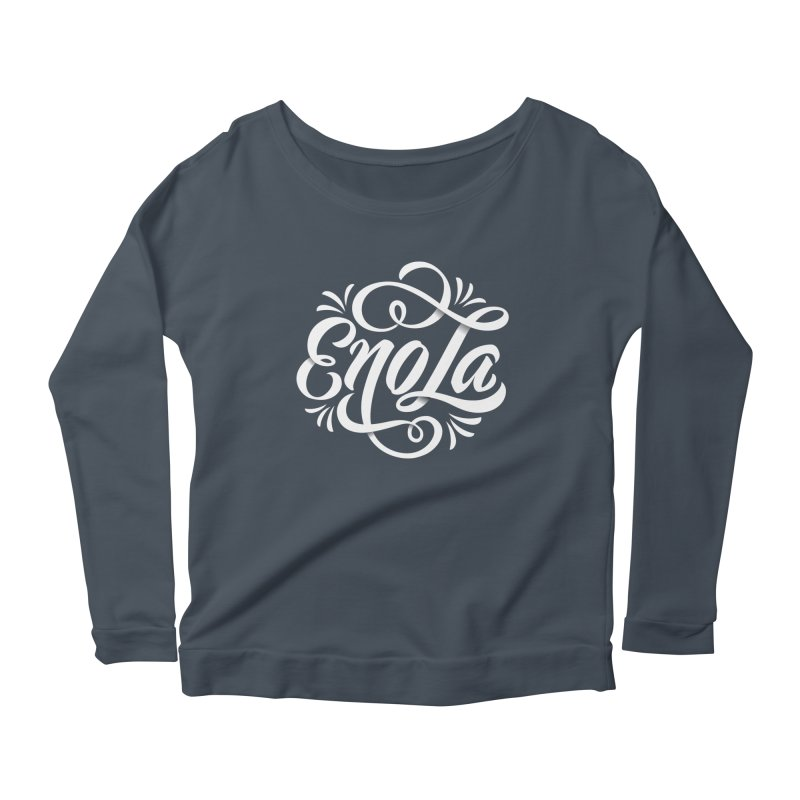Circle of EnoLa Women's Longsleeve Scoopneck  by EnoLa's Artist Shop
