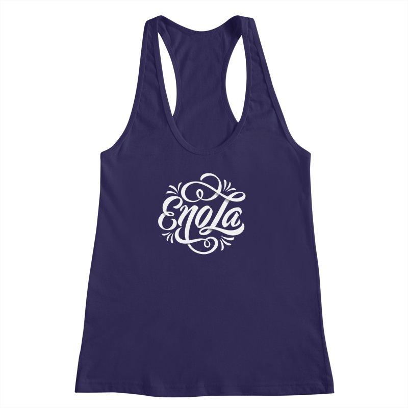 Circle of EnoLa Women's Racerback Tank by EnoLa's Artist Shop