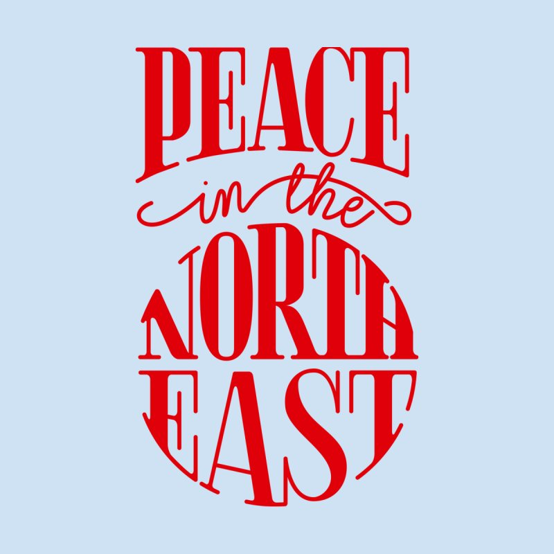 Peace in the Northeast Women's T-Shirt by Flatirony