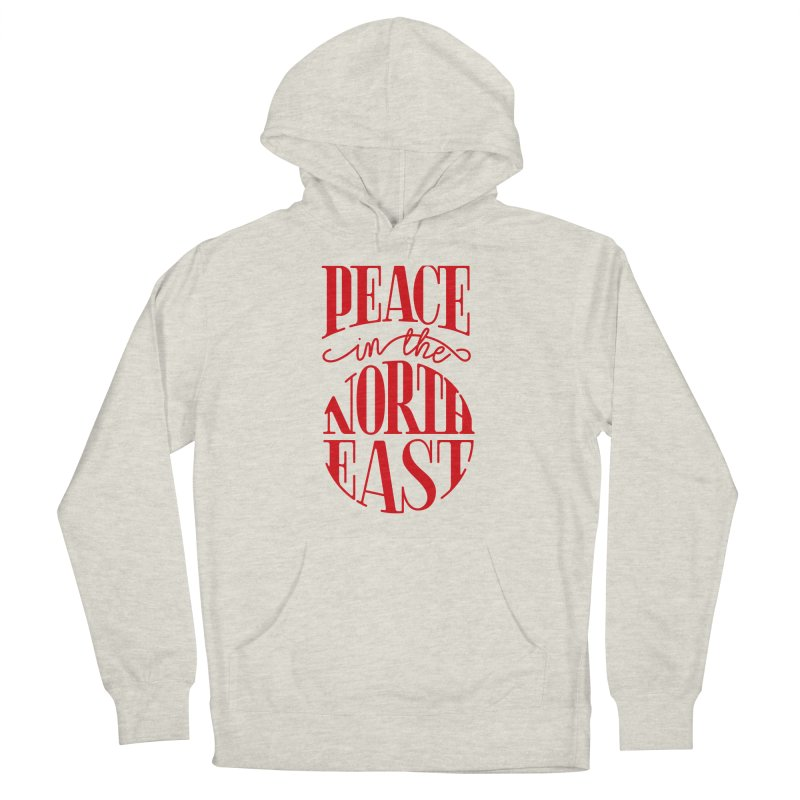 Peace in the Northeast Women's Pullover Hoody by Flatirony