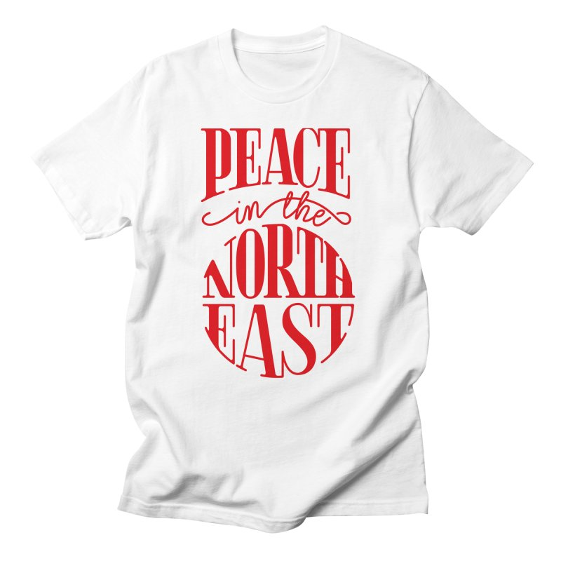 Peace in the Northeast Men's T-Shirt by Flatirony