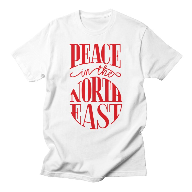 Peace in the Northeast Men's Regular T-Shirt by Flatirony