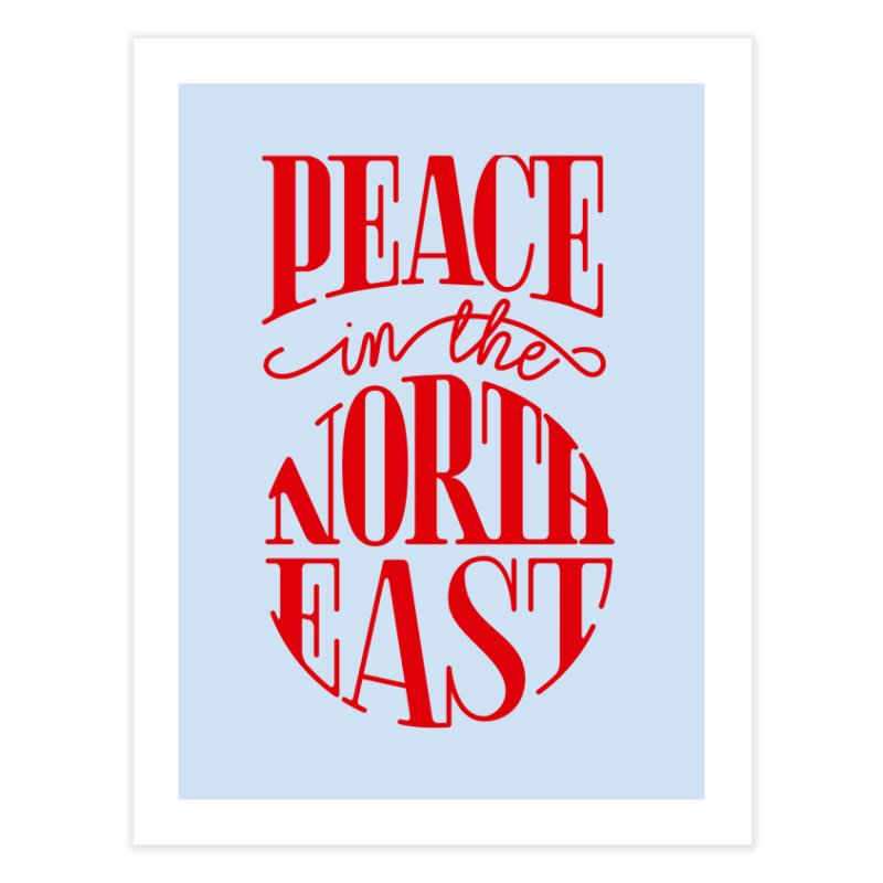 Peace in the Northeast Home Fine Art Print by Flatirony