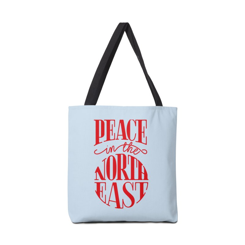 Peace in the Northeast Accessories Tote Bag Bag by Flatirony