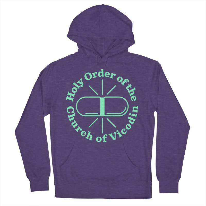Church of Vicodin Men's French Terry Pullover Hoody by Flatirony