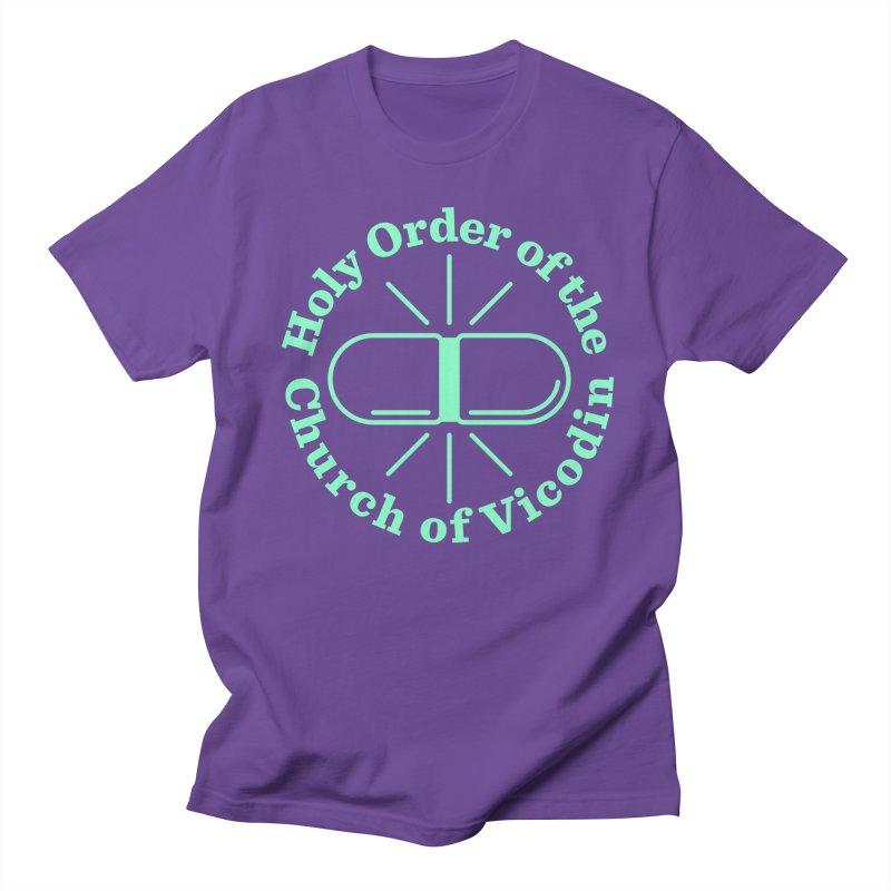 Church of Vicodin Men's Regular T-Shirt by Flatirony