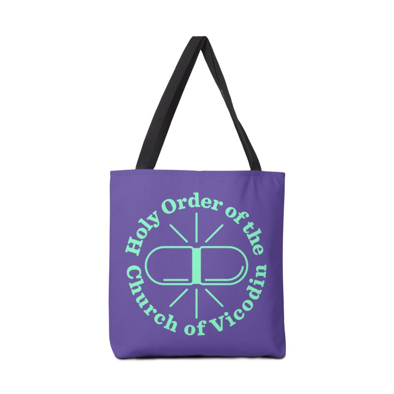 Church of Vicodin Accessories Bag by Flatirony