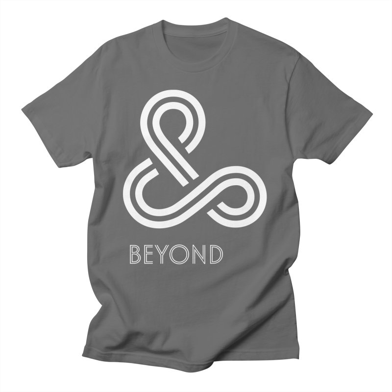 & Beyond Men's Regular T-Shirt by Flatirony