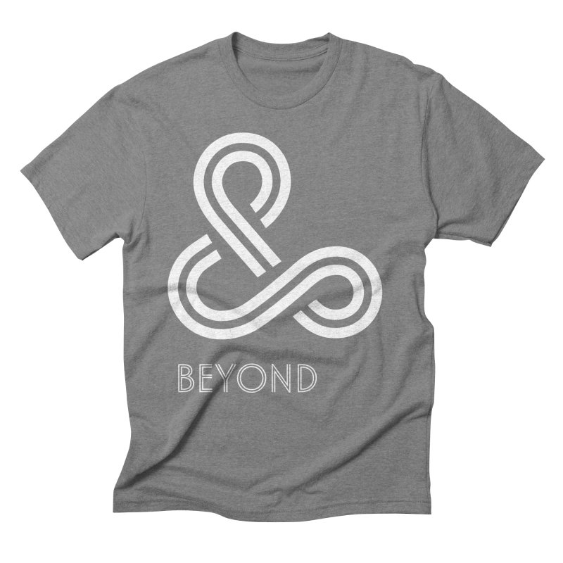 & Beyond Men's Triblend T-Shirt by Flatirony