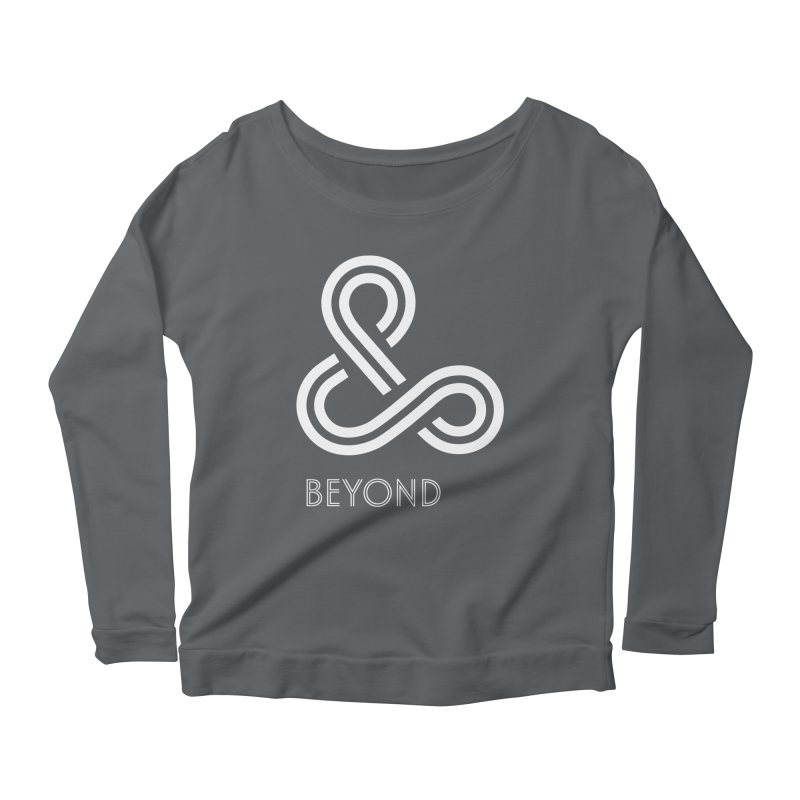 & Beyond Women's Scoop Neck Longsleeve T-Shirt by Flatirony