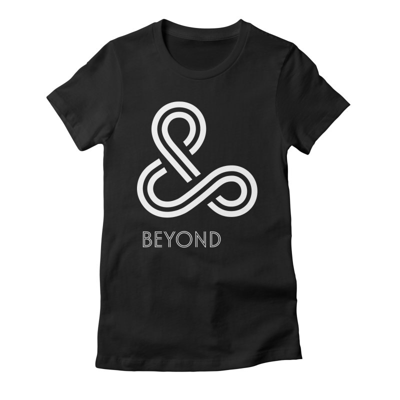 & Beyond Women's Fitted T-Shirt by Flatirony