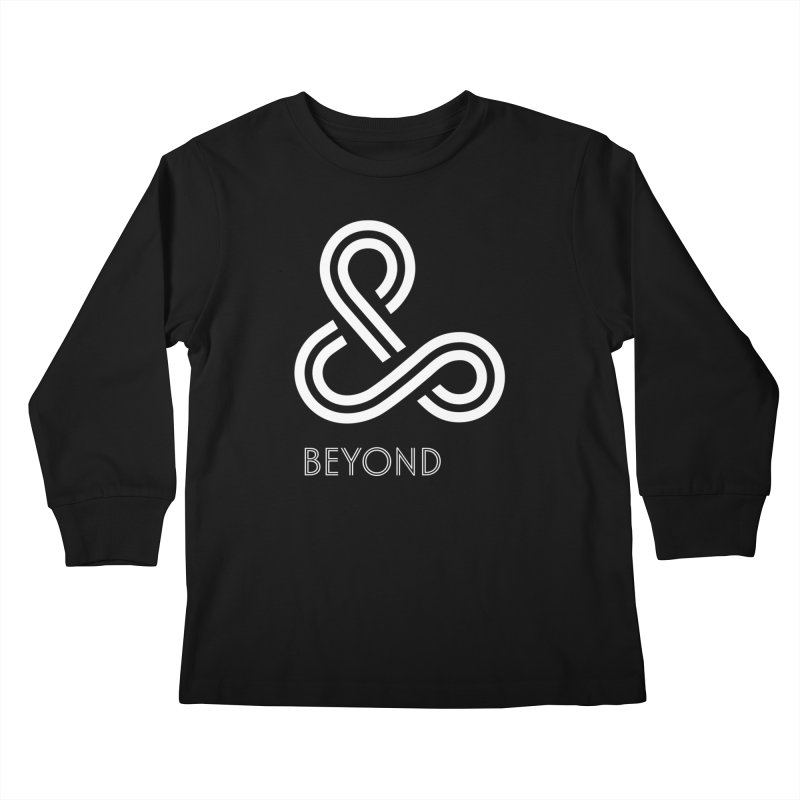 & Beyond Kids Longsleeve T-Shirt by Flatirony