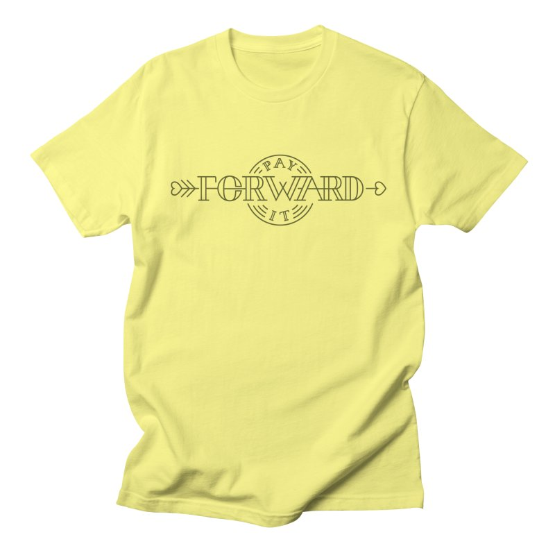 Pay it Forward Men's Regular T-Shirt by Flatirony