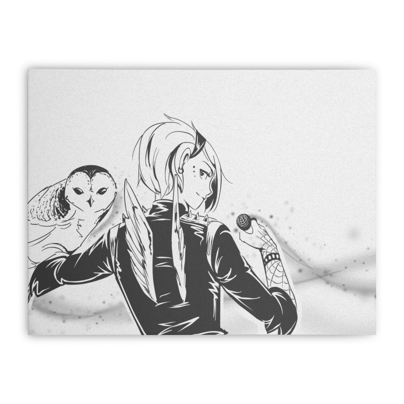Punk Harpy Home Stretched Canvas by enorie