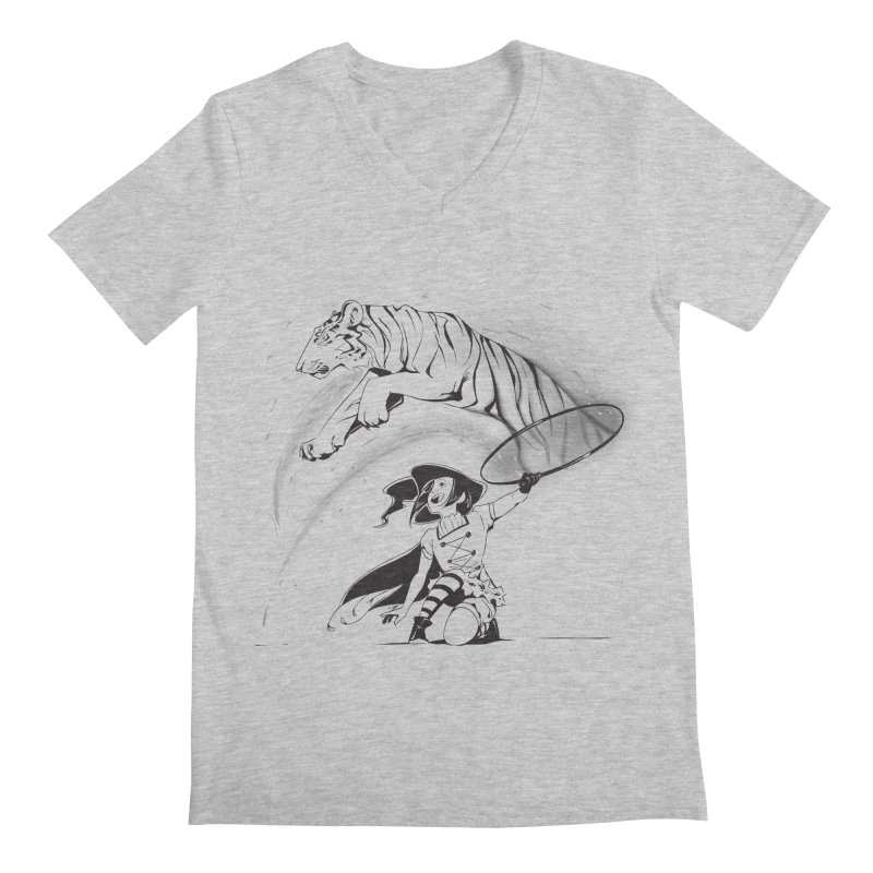 Circus Witch Men's Regular V-Neck by enorie
