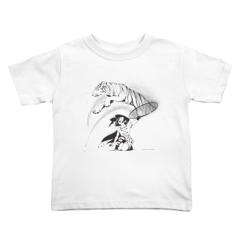 Circus Witch Kids Toddler T-Shirt by enorie