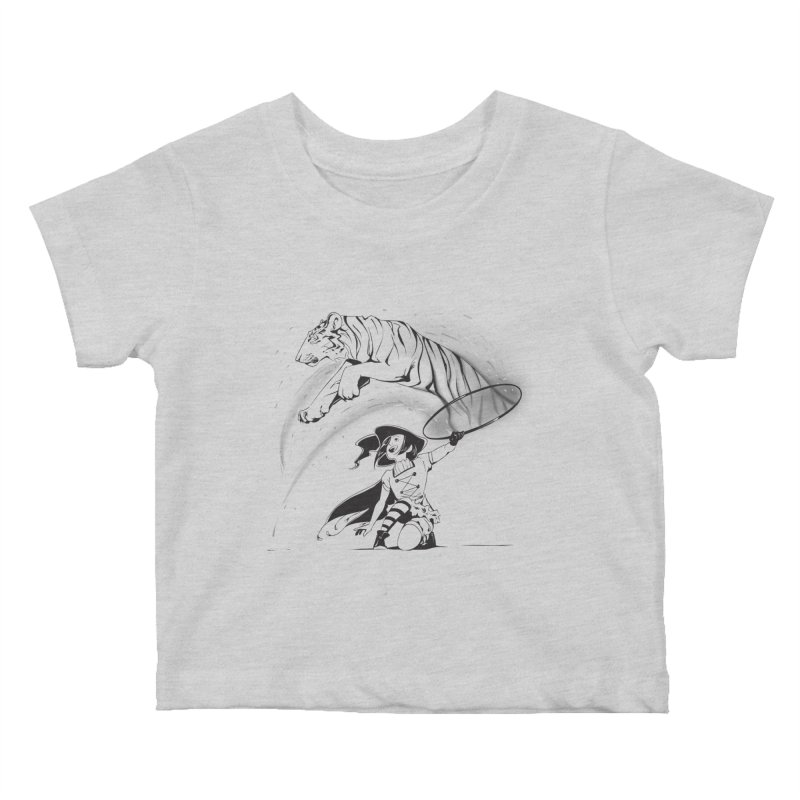 Circus Witch Kids Baby T-Shirt by enorie
